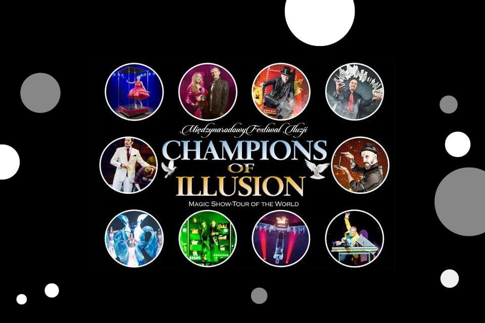 Champions of Illusion - Międzynarodowy Festiwal Iluzjonistów (Poznań 2020)