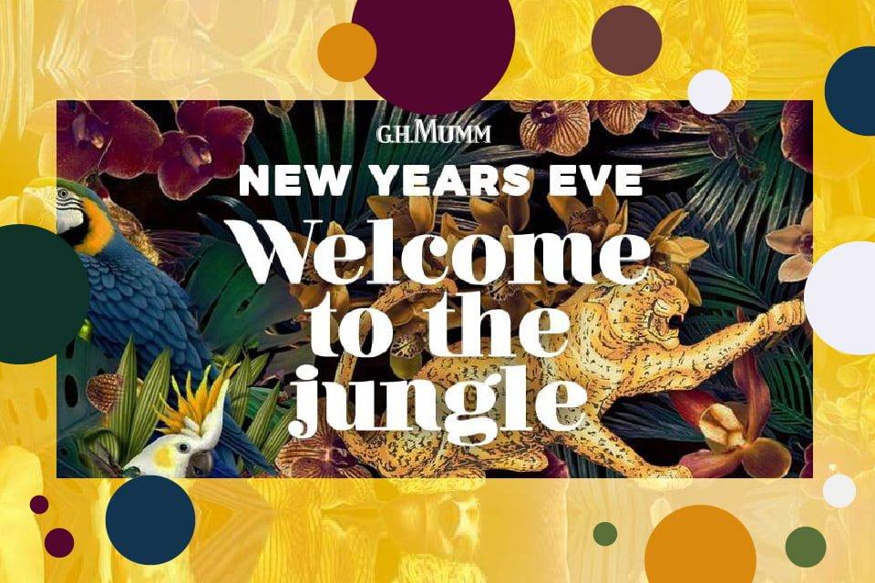 Welcome to the jungle | Sylwester 2018/2019 w Poznaniu