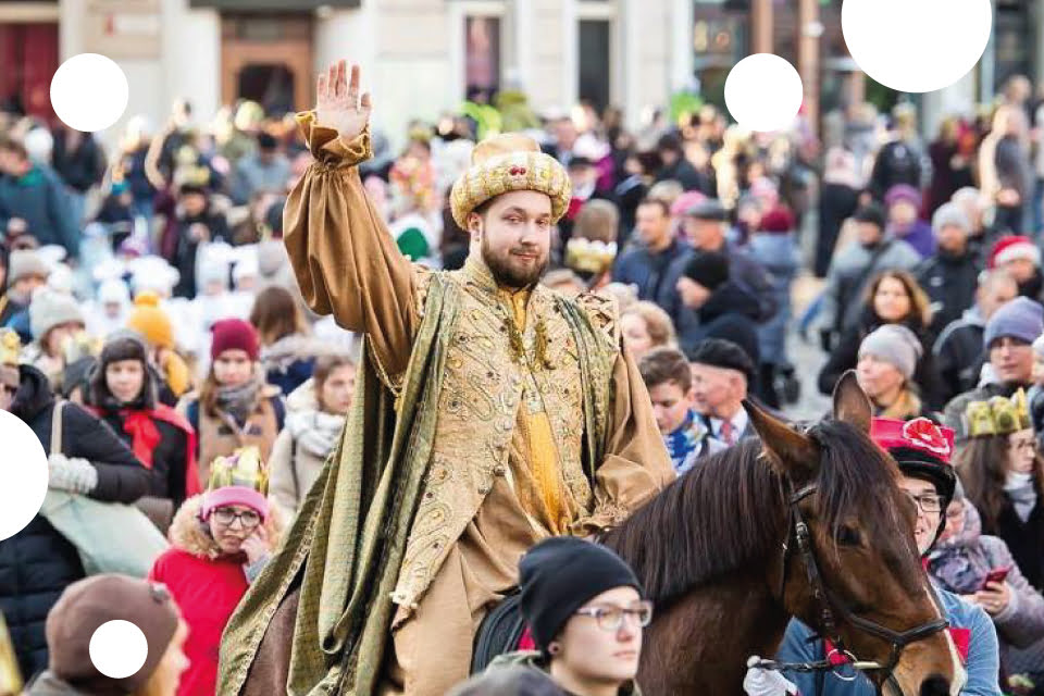 Orszak Trzech Króli w Poznaniu 2020