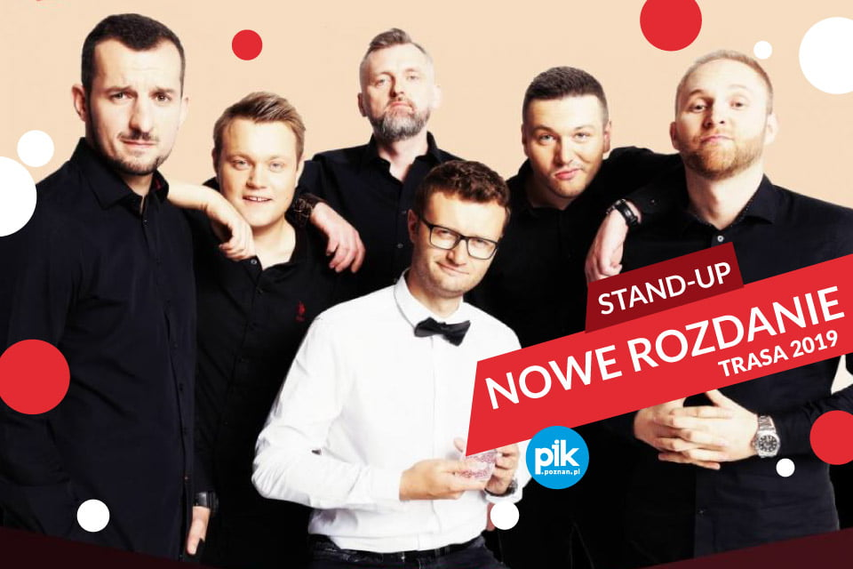 Stand-up Nowe Rozdanie (Poznań 2019)