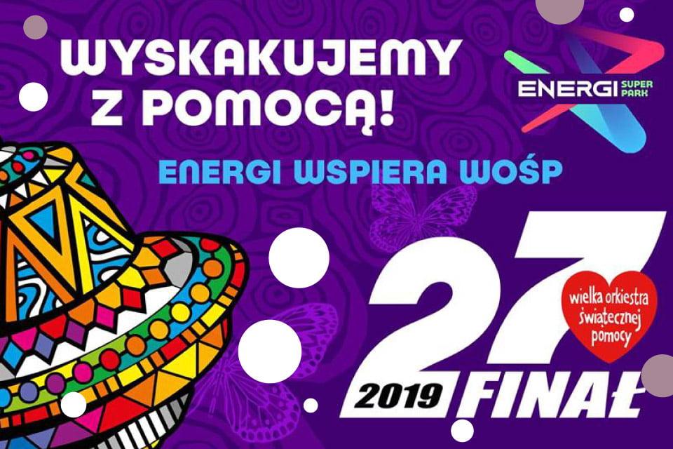 Energi Super Park | WOŚP 2019 Poznań