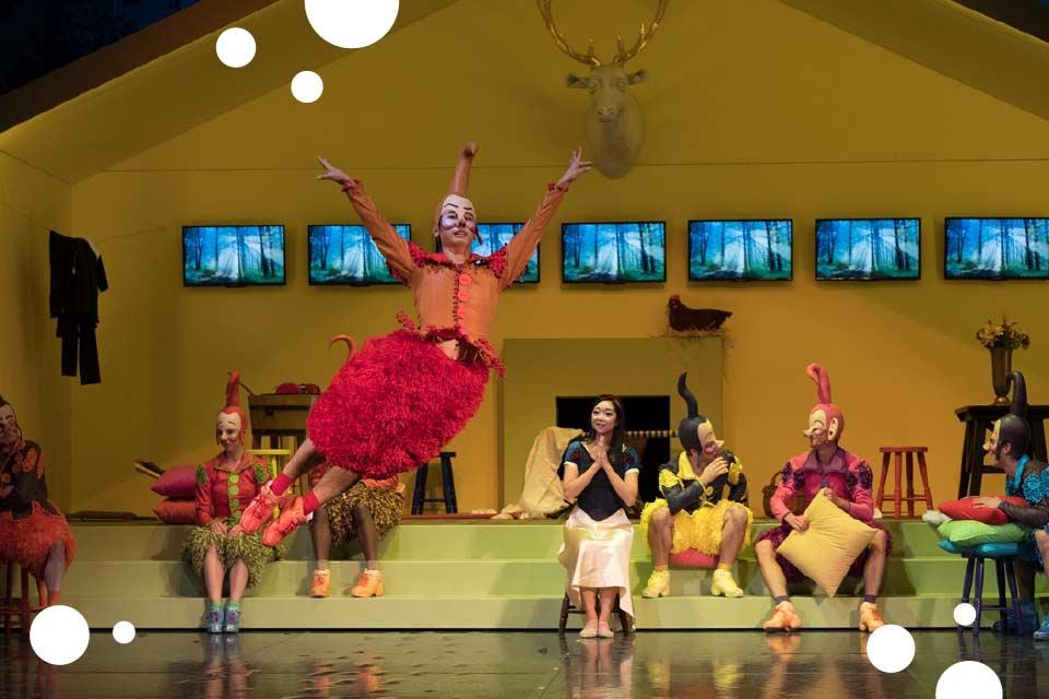 Królewna Śnieżka i siedmiu krasnoludków | balet