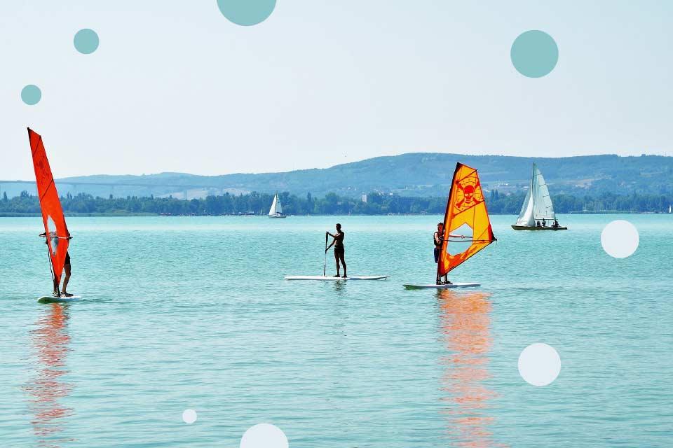 Windsurfing na Dzień Dziecka