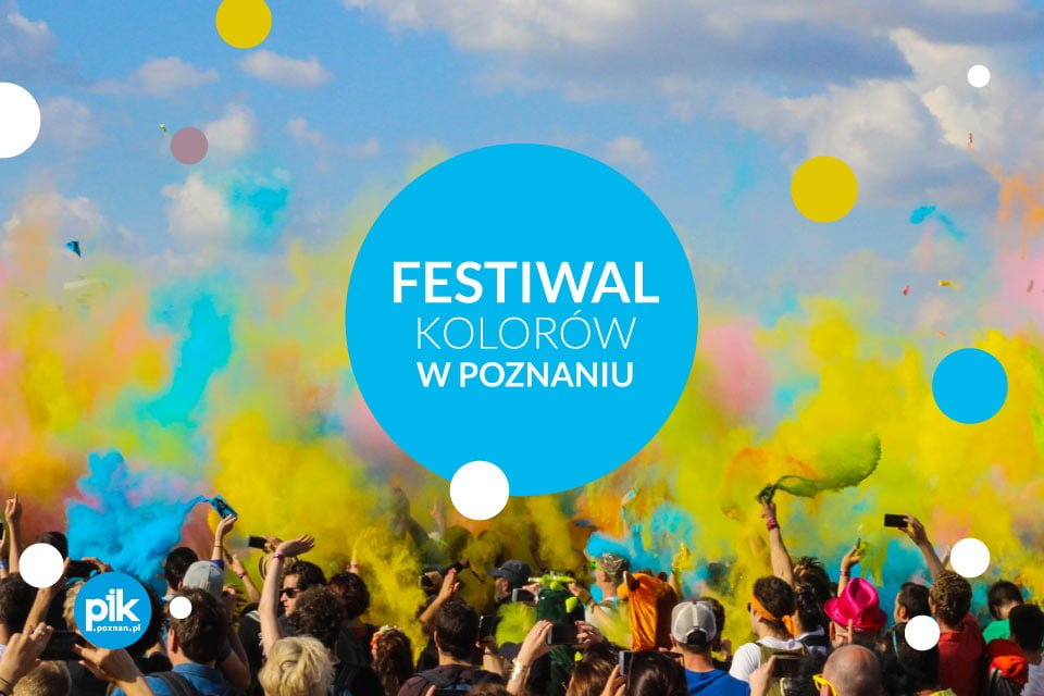 Festiwal Kolorów 2021 w Poznaniu