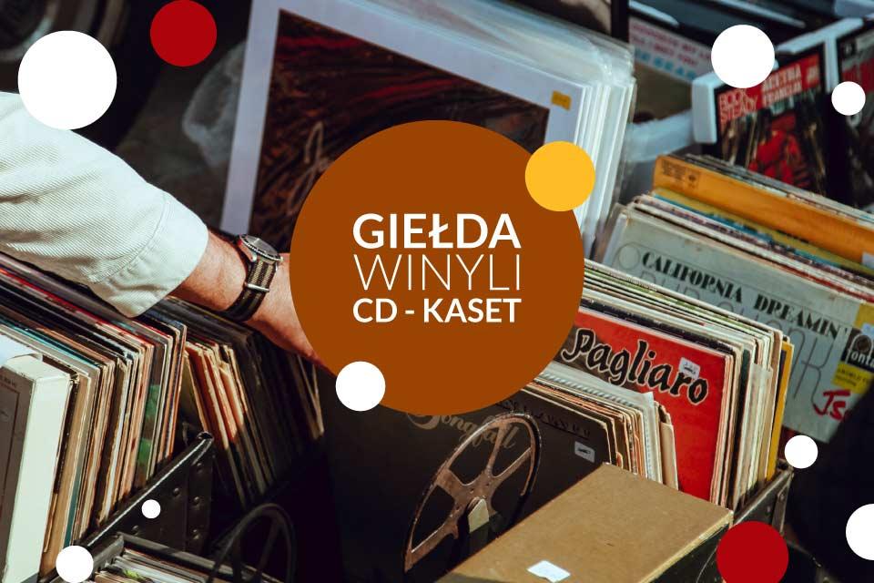 Giełda Winyli - CD - Kaset