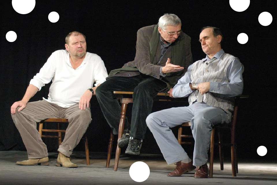 Scenariusz dla trzech aktorów | spektakl