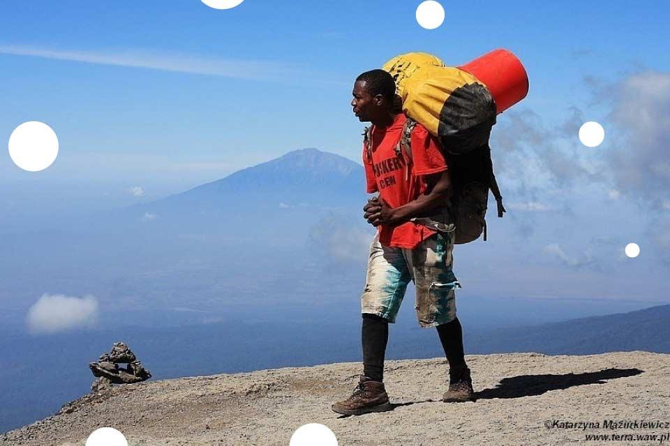 Od śniegów Kilimandżaro do plaż Zanzibaru - Katarzyna Mazurkiewicz