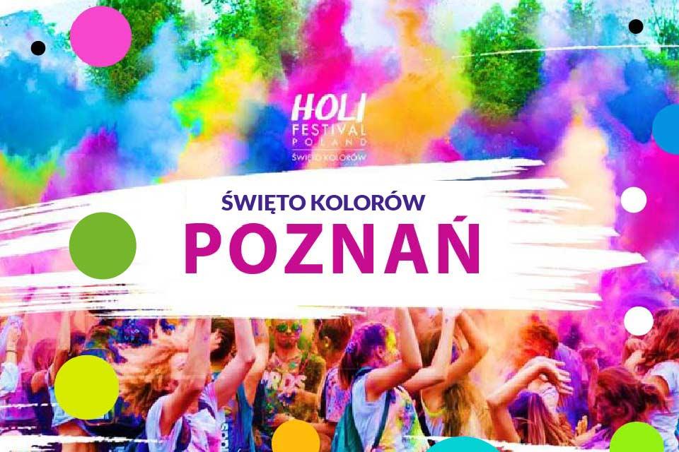 Holi Święto Kolorów w Poznaniu - 2020