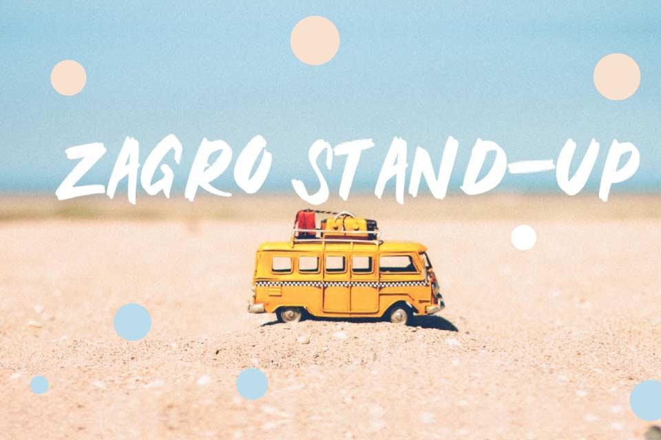 Stand-up na Plaży Rataje