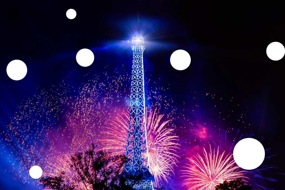 O północy w Paryżu | Sylwester 2019/2020 w Poznaniu