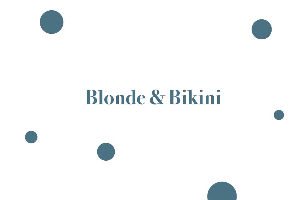 Blonde & Bikini