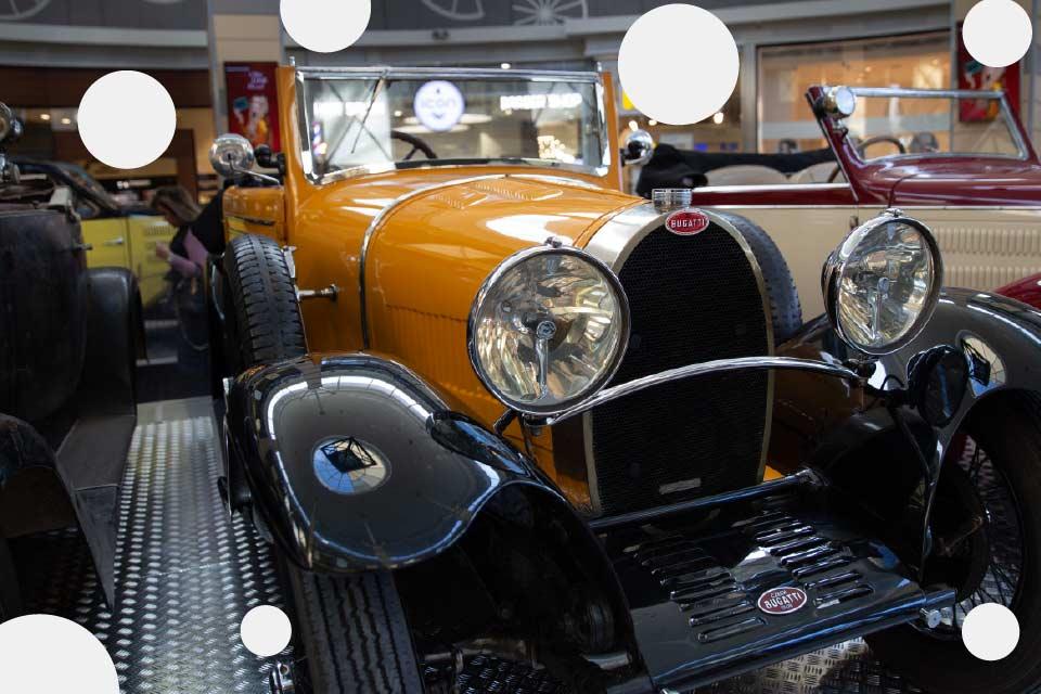 Motolegenda: Poznaj historię Bugatti | wystawa